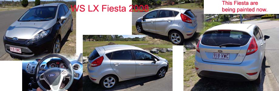 Ford Fiesta WS LX 2008, available for Rent or Purchase.